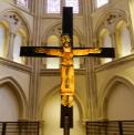 christ en croix de l'eglise saint ignace de loyola