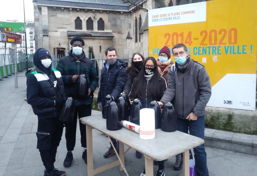 À Saint-Denis, les volontaires de San Alberto au service des migrants