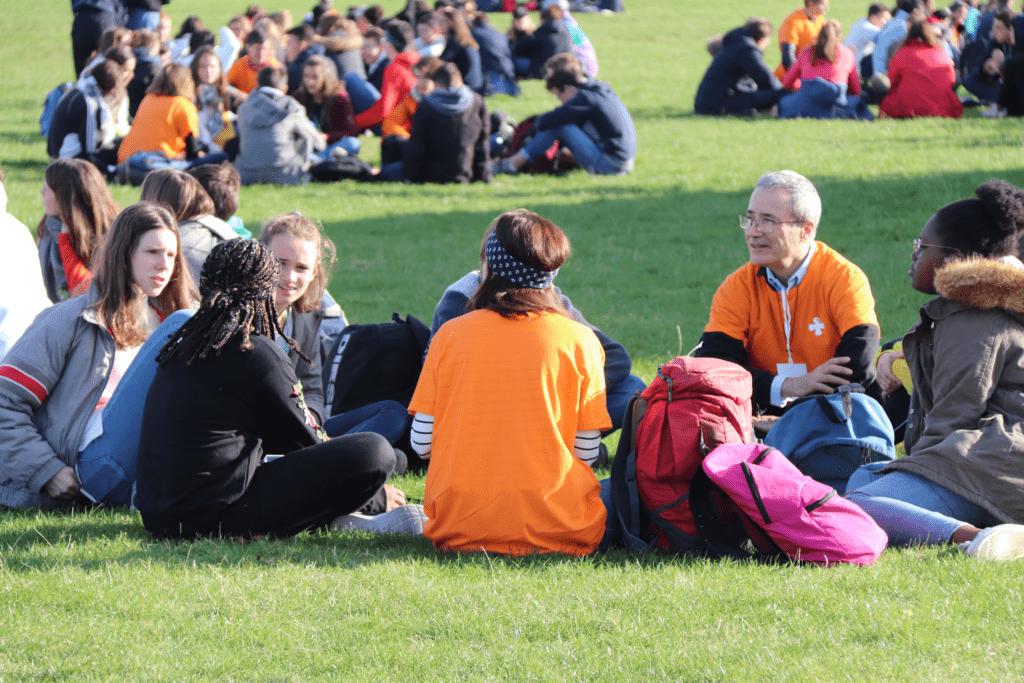 Accompagnement spirituel de jeunes du mouvement eucharistique jeunesse